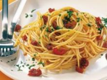 nudeln zitrone tomate - Rezept