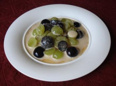 Beschwipste  Weinbeeren mit Marsala - Sößchen - Rezept