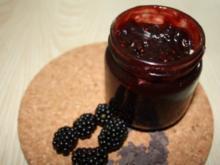 Aufstrich, süß: Brombeer-Schokoladen-Sirup mit Chili - Rezept
