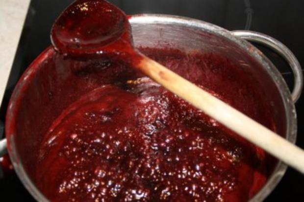 Aufstrich, süß: Brombeer-Schokoladen-Sirup mit Chili - Rezept - Bild Nr. 6