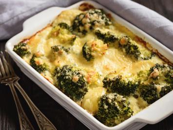 Kartoffel - Gratin mit Brokkoli und Blumenkohl - Rezept - Bild Nr. 2