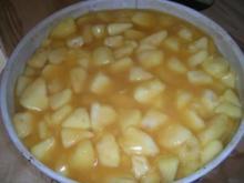 Apfel-Wein-Torte - Rezept