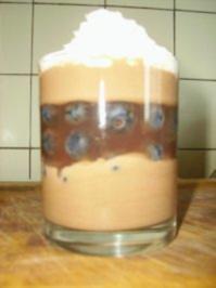 Dunkles Joghurt-Schichtdessert - Rezept
