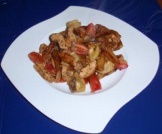 Rezept: Kartoffel-Putenfleisch-Pfanne