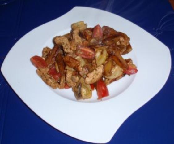 Kartoffel-Putenfleisch-Pfanne - Rezept