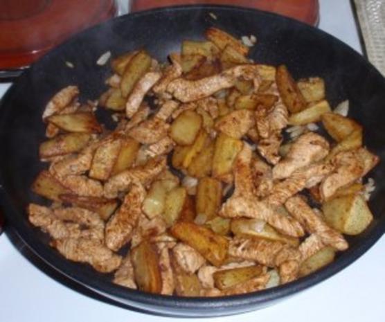 Kartoffel-Putenfleisch-Pfanne - Rezept - Bild Nr. 6
