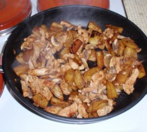 Kartoffel-Putenfleisch-Pfanne - Rezept - Bild Nr. 8