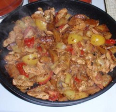 Kartoffel-Putenfleisch-Pfanne - Rezept - Bild Nr. 11