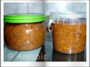 Gewürzmischung - Harissa (Chilipaste) - Rezept