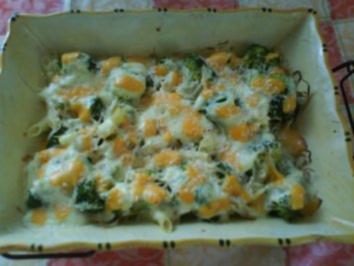 Brokkoli-Nudelauflauf - Rezept