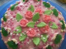 Kinder-Geb.-Torte für mein Enkelchen Sophia zum 5. Geburtstag, Eigene Kreation.puh - Rezept