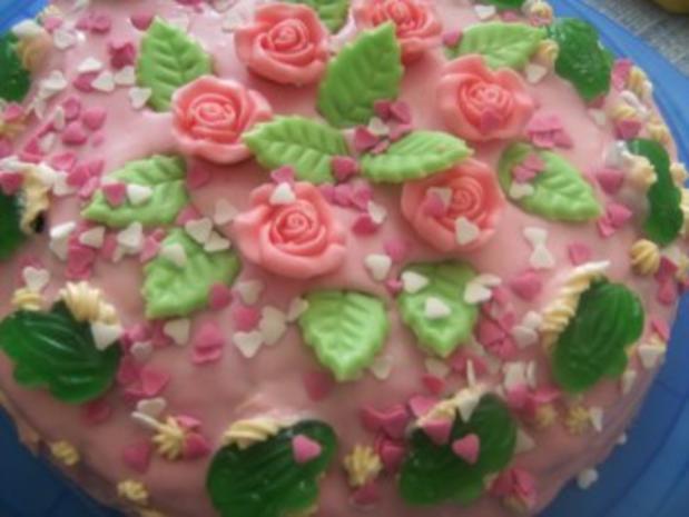 Kinder-Geb.-Torte für mein Enkelchen Sophia zum 5. Geburtstag, Eigene Kreation.puh - Rezept - Bild Nr. 9