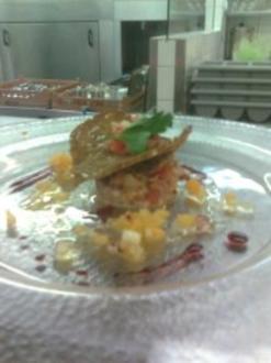 Tartar von Bauernspeck mit Brotchips - Rezept