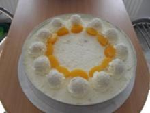 Raffaelo - Torte mit Aprikosen - Rezept