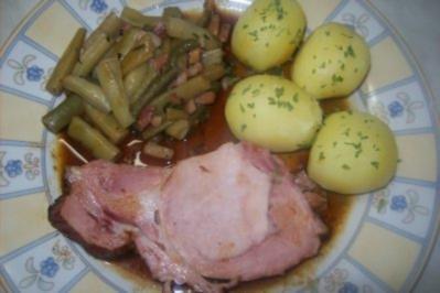 Kassler - Schweinenacken - Schmorbraten - Rezept
