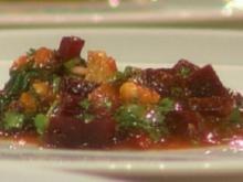Karpfen mit Kürbis und Roter Bete á la Kleeberg - Rezept