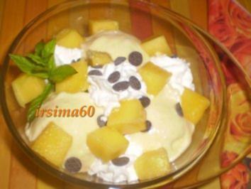 Fruchtiges Mangoeis - Rezept