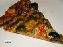 Pizza aus dem Garten - Rezept