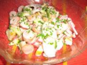 Apfel-Meerrettich-Wurstsalat (Wienerle) - Rezept