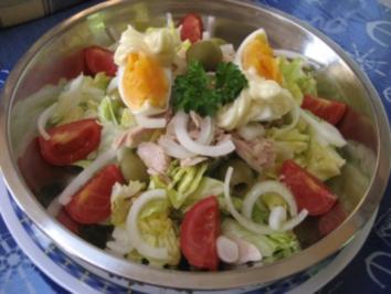 Spanischer Salatteller... - Rezept