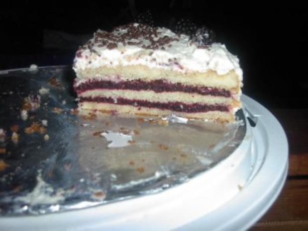 Brombeer - Torte - Rezept
