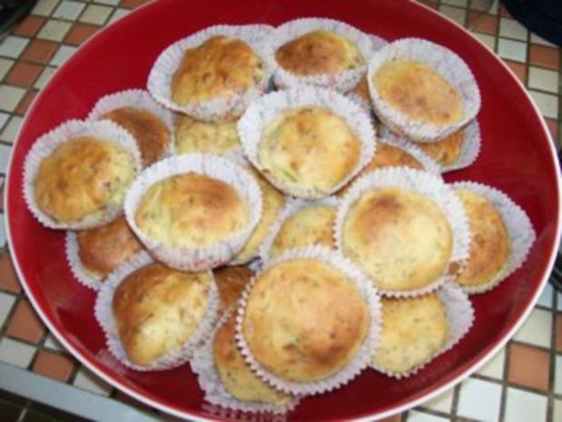 Snack...Herzhafte Muffins - Rezept