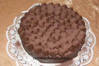 Schoko - Trüffel - Torte - Rezept