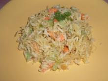 Glasnudel-Reis-Salat - Rezept