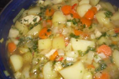 Rheinische Kartoffelsuppe... - Rezept