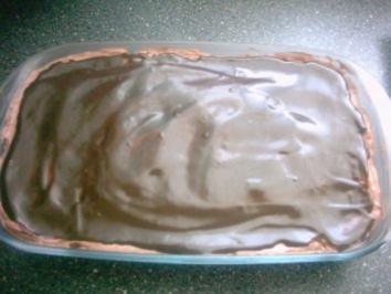 Schnelle Schokopudding Torte - ohne Backen - Rezept