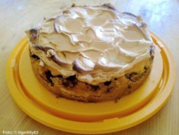 Zwetschgen-Baiser-Torte - Rezept
