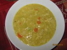 Curry-Ananas-Geflügelsuppe - Rezept