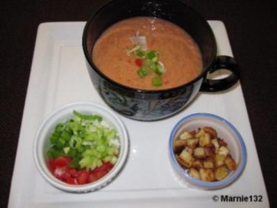 gazpacho andaluz rezept