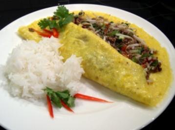 Asiatisches Omelett - Rezept