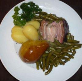 Rezept: Birnen, Bohnen und Speck