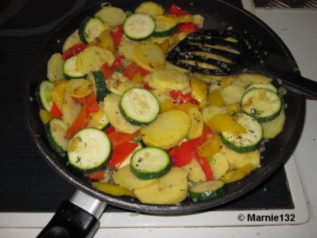 Sommer-Tortilla (Tapas) - Rezept - Bild Nr. 5