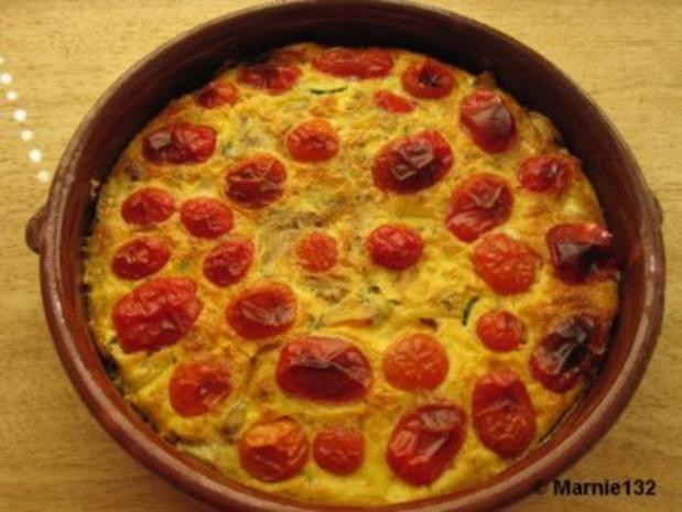 Sommer-Tortilla (Tapas) - Rezept - Bild Nr. 9