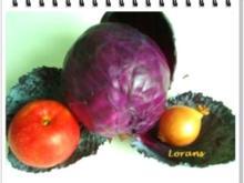 Blaukraut mit Apfel und Bauchspeck - Rezept