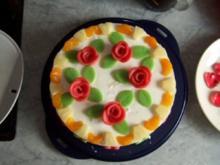 Ananas-Marzipan-Torte - Rezept