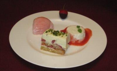 Dessertvariation von der Erdbeere - Rezept