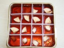 Eisige Früchtewürfel - Rezept