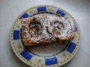 Pflaumen- Nuss - Kuchen - Rezept