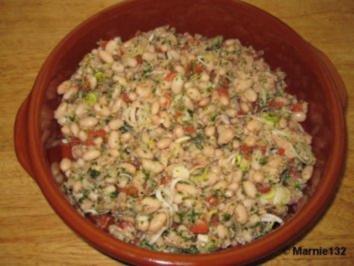Weiße Bohnensalat mit Thunfisch - Rezept