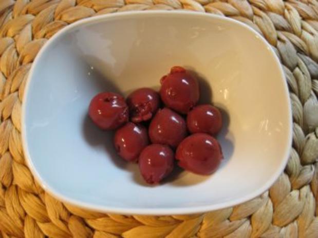 Joghurt-Mintcreme auf Kirschen ...vonne Sabine - Rezept - Bild Nr. 3