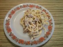 """PASTA"" Spaghetti Carbonara - Rezept"