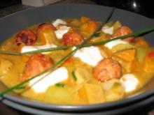 Indischer Curry-Kürbistopf - Rezept