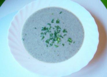 Kochen: Champignon-Cremesuppe - Rezept
