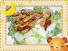 Caesar Salad mit Hähnchenbrust - Rezept