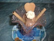 Eis Schoko - After Eigth mit Baiser - Rezept