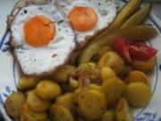 Bratkartoffeln herzhaft und knusprig ,,,, so wie wir sie mögen.,,,, - Rezept